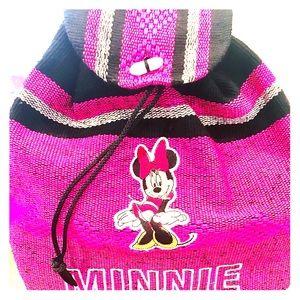 Handbags - Disney Minnie Mouse woven backpack. Aztec